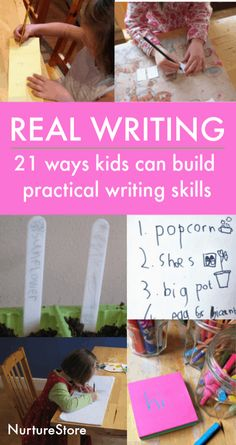 21 practical ways to build real writing skills - NurtureStore