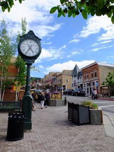 Park City, Utah ~ historic mining town, fabulous ski resorts, and the Sundance Film Festival
