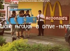 i did this while in college....it was funny cuz i only did it to get a frappe lol