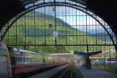 NSB Oslo-Bergen Train: https://www.nsb.no/en/frontpage
