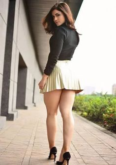 Image may contain: 1 person, standing, shoes and outdoor Beautiful Legs, Gorgeous Women, Sexy Outfits, Girls In Mini Skirts, Sexy Legs And Heels, Great Legs, Curvy Women Fashion, Models, Tight Dresses