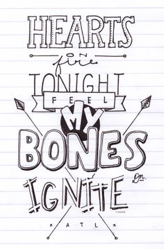 all time low lyrics drawings - Google Search
