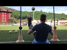 Goalkeeper training with FitLight Goalkeeper Training, Soccer Goalie, Agility Training, Football Stuff, Soccer Tips, Drills, Hd 1080p, Exercises, Youtube
