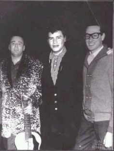 Big Bopper, Ritchie Valens and Buddy Holly