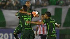 Ananias Chapecoense x Junior Barranquilla (créditos: NELSON ALMEIDA/AFP)