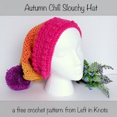 Autumn Chill Slouchy Hat — Left in Knots