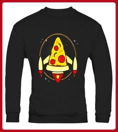 Think Pizza Get Creative Fly High Space Ship Tshirt Limited Edition - Shirts für vater (*Partner-Link)