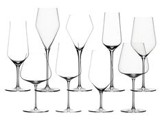 #Zalto drinking glasses If you have only one style of wine glass in your cupboard, this should be it. Created from a single piece of mouth-blown glass, the shape complements everything from California Cab to a racy Sancerre—and everything in between.