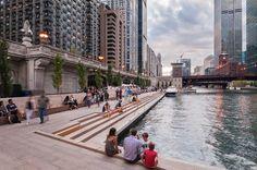 Chicago-Riverwalk_10 « Landscape Architecture Works | Landezine