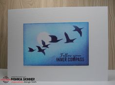 Card by Monika for the ARTplorations stencil blog hop