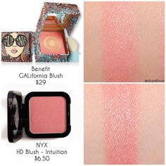 @dupeboss on Insta: found a GREAT alternative to @benefitcosmetics GALifornia BLUSH which is priced…""