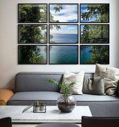 Uma janela que mostra o dia sempre lindo iluminado trazendo o verde o mar e o céu para dentro do ambiente. A fotografia da paisagem é um dos belos cliques do fotógrafo Lucas Ferraz.  Olhares @kiolo #fotografia #fotógrafo #imagem #paisagem #janela #shot #fpolhares #sala #ideiadecorativa #decoração #decorsala #OlhardeMahel #livingroom #facebook #instagram #pinterest #pictures #photography #photographer #foto #pic #image #photo http://ift.tt/2dWK3Xv