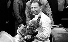 1958 Portuguese Grand Prix: Motor-racing ace Stirling Moss, seen here in 1954