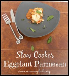 Slow Cooker Eggplant Parmesan - Mummy Deals