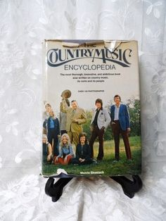 The Country Music Encyclopedia- 1974- by Melvin Shestack- Oversize Hardcover Book-Background of all Major Perfomers-200 +Entries-150  Photos by OrphanedTreasure on Etsy