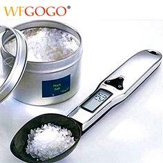 購入300グラム/0.1グラムポータブル液晶デジタルキッチンスケール測定スプーングラム電子スプーン重量volumn食品スケール新しい高品質