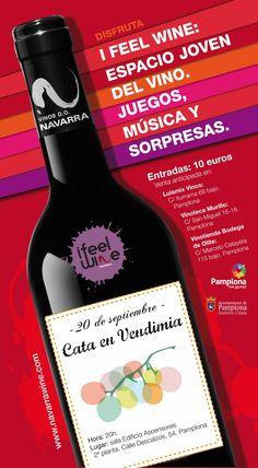 Disfrutar de una cata en vendimia es realizar el recorrido de la uva al vino. 20 de septiembre. Pamplona.