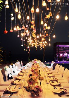 The wedding at istana bali surround by the sea fabulous bali inspiration decor plafonnier romantic wedding receptionsbali junglespirit Choice Image