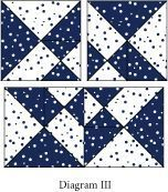 Free Quilt Block Pattern - Night & Day