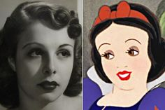 Marge Champion - Snow White | Here Are The Real Life People Your Favorite Disney Characters Are Modeled After