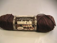 Ravelry: juliew8's Caron Wintuk (dark brown)