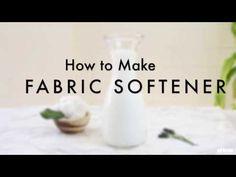 Easy & Inexpensive Liquid Fabric Softener Tutorial   eHow