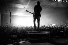 Tony Perry of Pierce The Veil at SOMA in San Diego, CA on October 13th, 2012