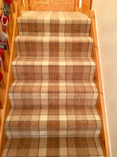 Tartan Carpet, Staircases, Carpets, Runners, Flooring, Rugs, Home Decor, Farmhouse Rugs, Hallways