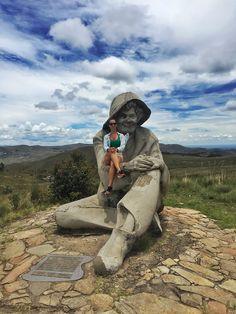 Estátua do Juquinha, Serra do Cipó, Minas Gerais