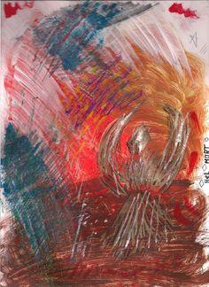 The lonely bird  by Hel Mort #art #painting #helmort #helmortart #amazing #landscape #contemporaryart