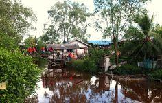 Mukah, #Sarawak located in #Borneo- Kembara Cuti-Cuti Malaysia #KCC1M #gayaTravel #Malaysia #VMY2014