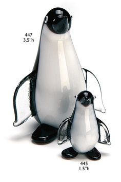 """It is the Small Penguin pictured in front. Sold separately from the one pictured in the back. 1 piece only. This penguin stands 2.0"""" tall"""