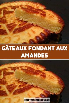 Gâteaux fondant aux amandes - Expolore the best and the special ideas about French recipes No Cook Desserts, Vegan Dessert Recipes, Lemon Desserts, Homemade Desserts, Homemade Recipe, Sponge Cake Recipes, Pound Cake Recipes, Easy Cake Recipes, Shortcake Recipe