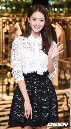 "YoonA Attends Grand Opening Event for Luxury Italian Brand ""N21"" | Koogle TV"