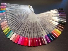 . Gelish Nail Colours, Cute Nail Colors, Gelish Nails, Cute Nails, Swatch, Nail Designs, Hair, Polish, Pretty Nails