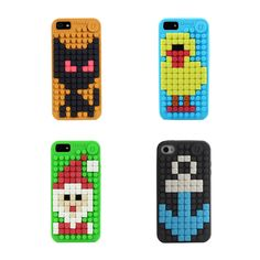 iPhone Cover   Upixel bags, backpacks & accessories  Diy Create your own design with 24 colours of pixel chips. One cover, everyday new design if you like!