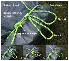 NOTES: How to Build a Yukon pack, if you only have a tarp and rope your still good 2 go!!