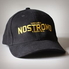 USCSS Nostromo Cap (Yellow on Black) - Had to get this too.