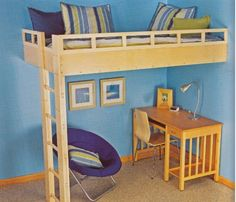 Find out my favorite built-ins from the Black & Decker book, The Complete Guide to Built-Ins (2nd Edition).: Built In Loft Bed
