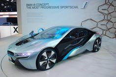 BMW i8 Concept Live Photos: 2011 Frankfurt Auto Show, Gallery 1 - MotorAuthority