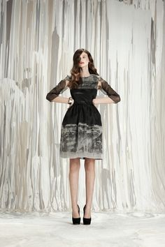 Honor Pre-Fall 2012: Messy Perfection