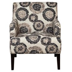 Zoe Accent Chair - Grey