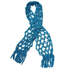 Go green and support a cause with this upcycled t-shirt scarf crafted by women in Peru.