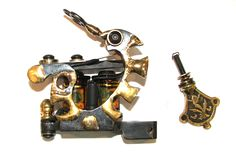 Handmade Tattoo Machine. Pirates Gold LINER