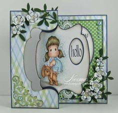 "From My Craft Room: Swing Card V.2 Tutorial - 6"" x 6"" (15cm x 15cm)"