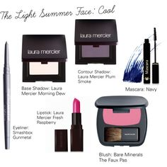 The Light Summer Face: Cool by catelinden on Polyvore featuring polyvore, güzellik, Laura Mercier, Bare Escentuals, Dr.Hauschka, Smashbox and contemporary