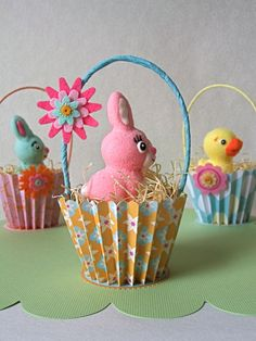 The Spin off of Easter favor idea...but we could fill ours with easter egg shaped soaps, cake balls, etc??
