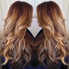 Dark Brown Hair With Highlights Tumblr