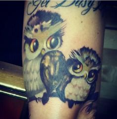 Owl tattoo- perfect