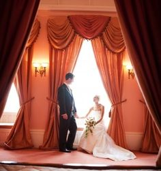 A moment together in the Bridal Suite at St Audries Park
